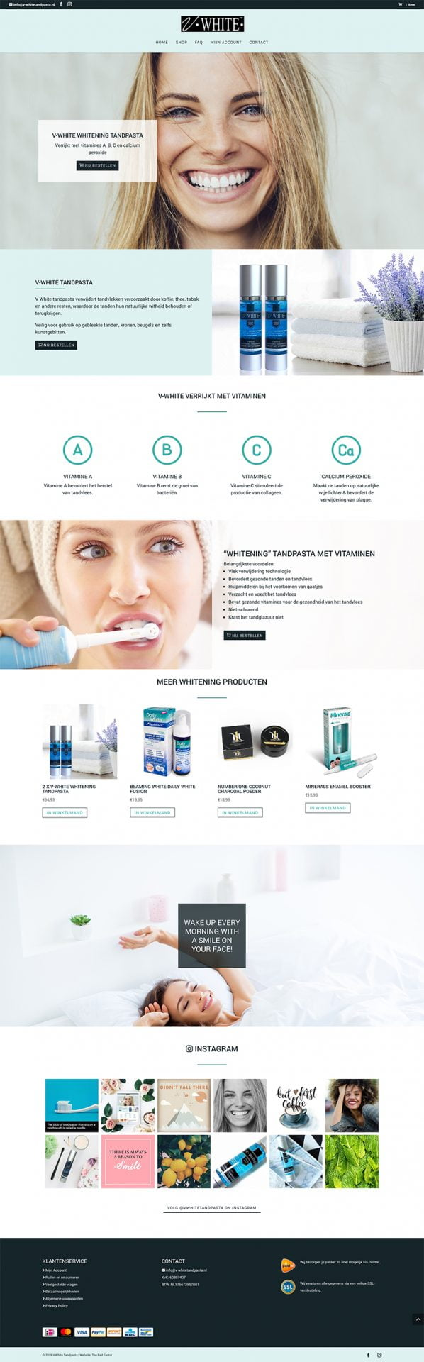 v-white tandpasta