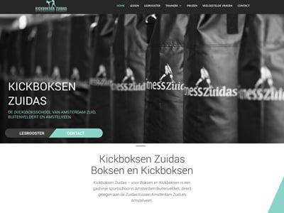 Kickboksen Zuidas