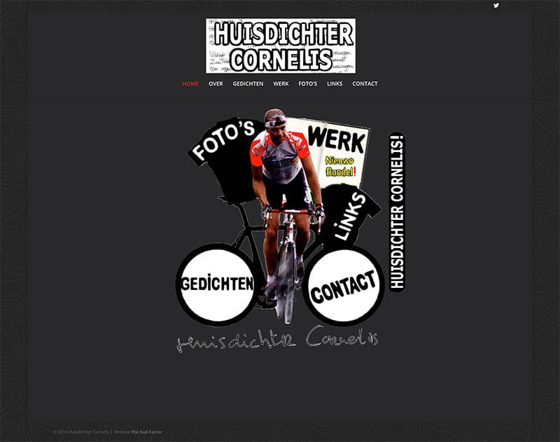 Huisdichter Cornelis Website