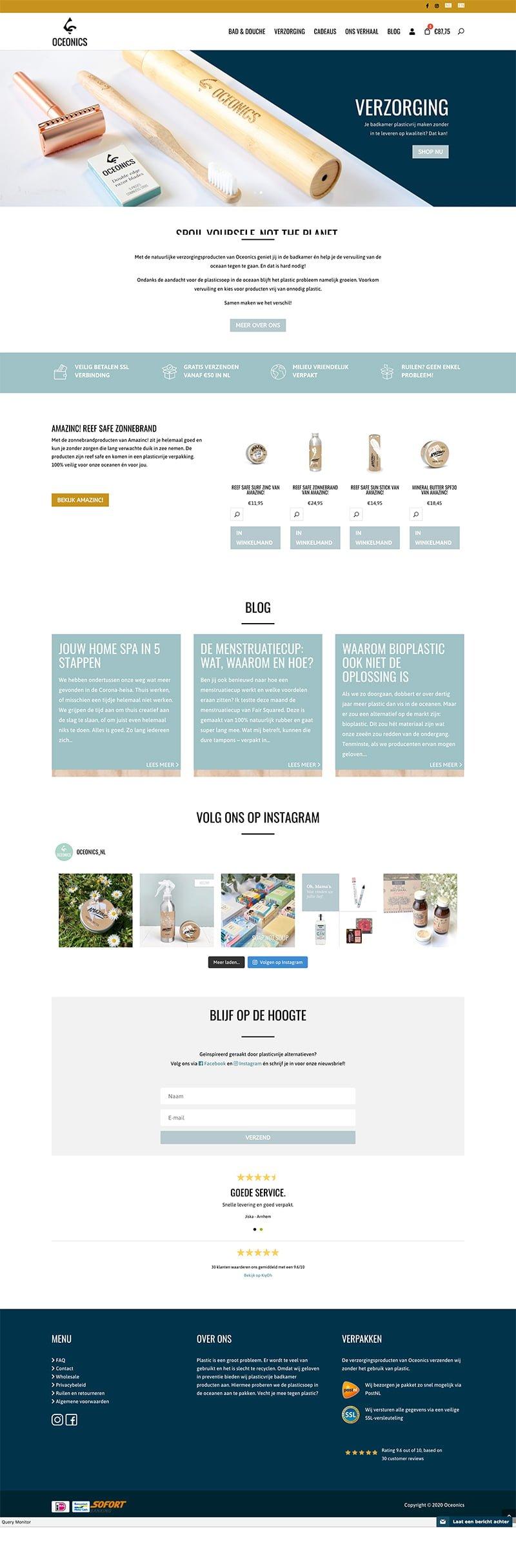 oceonics webdesign
